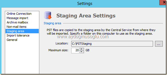 clip image016 thumb1 Exchange Server 2013 ile PST Hunting , PST Capture & Import