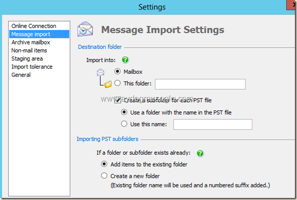 clip image018 thumb Exchange Server 2013 ile PST Hunting , PST Capture & Import