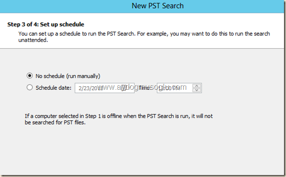 clip image024 thumb Exchange Server 2013 ile PST Hunting , PST Capture & Import