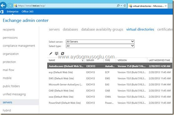clip image048 thumb1 Exchange Server 2010'dan Exchange Server 2013'e Geçiş